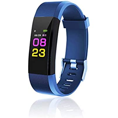 Iiloens Multifunction Tracker Smart Fitness Wristband Heart Rate Monitor Fitness Tracker Heart Rate Monitors Estimated Price £29.45 -