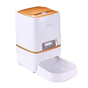 BELOPEZZ 6Liters Smart Pet Automatic Feeders for Dog and Cat Food Dispenser with Timer Programmable Up to 4 Meals per Day 13