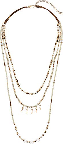 Chan Luu Women's Multi Strand Necklace White Mix One Size ()