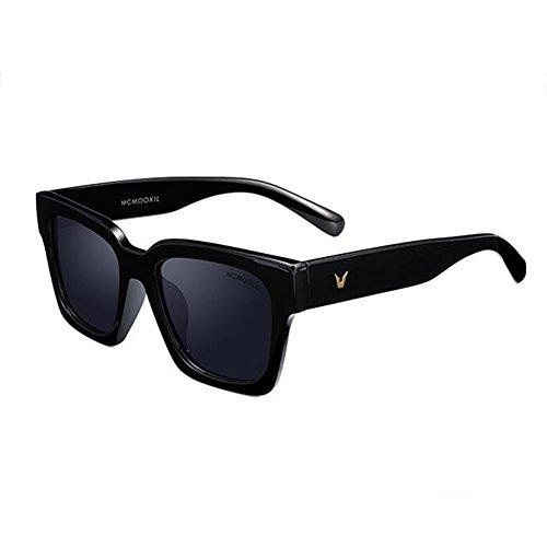 sol la hombre C A de negro Color Gafas lente Unisex de polarizadas señoras HONEY UV400 Ladies del estilo protectoras para qRwEYy