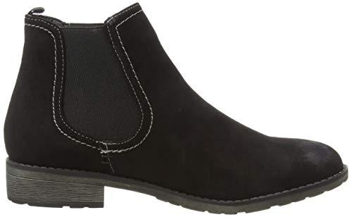 253 Chelsea KLAIN Black 004 Boots 668 Schwarz Damen JANE 4axFPqB