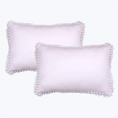- Abreeze Ruffled Pillow Shams Pillowcases Shabby Chic Farmhouse Pretty Victorian Hypoallergenic Country Girls Vintage Pillow Cover 20x29(2PC