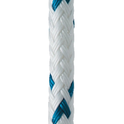 New England Ropes 10' of 7/16'' (11mm) Sta-Set X Blue Fleck