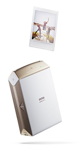 Fujifilm INSTAX SHARE SP-2 Smart Phone Printer (Gold) (Renewed)