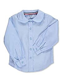 French Toast Little Girls' Toddler L/S Peter Pan Blouse