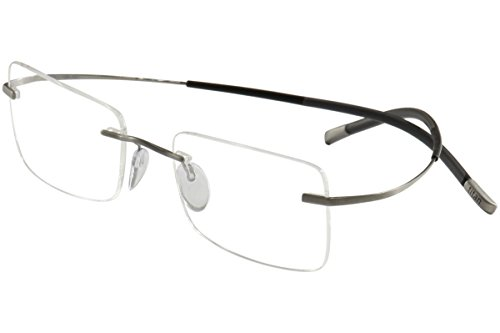 Silhouette Eyeglasses Titan Minimal Art Icon Chassis 7581 6061 Optical - Silhouette Optical Frames