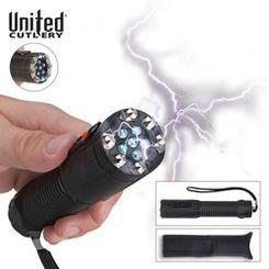 Self-Defense-Shocklight-Stun-Gun-Flashlight-with-Sheath-1-million-volt-Charge-That-Will-Knock-Down-Any-Attacker