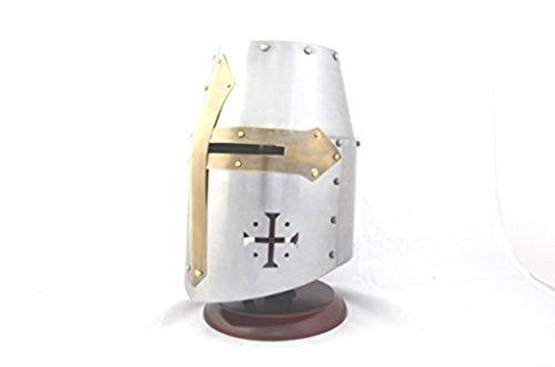 Sca Costumes (Thor's Crusader's / Templar's Knight Helmet (LARP / SCA / Medieval ))