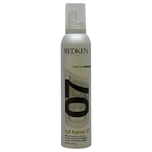 - Full Frame 07 Protective Volumizing Mousse Unisex Mousse by Redken, 8.5 Ounce