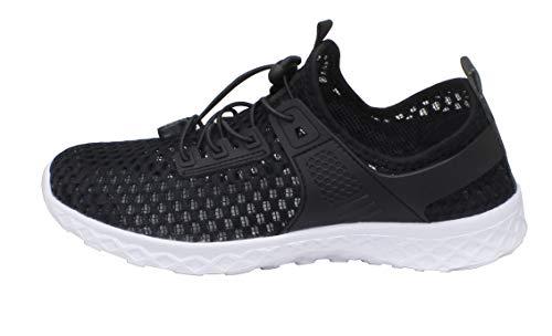 Adorllya Stylish Hiking Aqua Slip Shoes Shoes Men Mesh Swim Shoes Water on black for Women OOvrSY