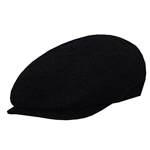 DelMonico Sergio Wool Blend Ivy Cap, Black, L
