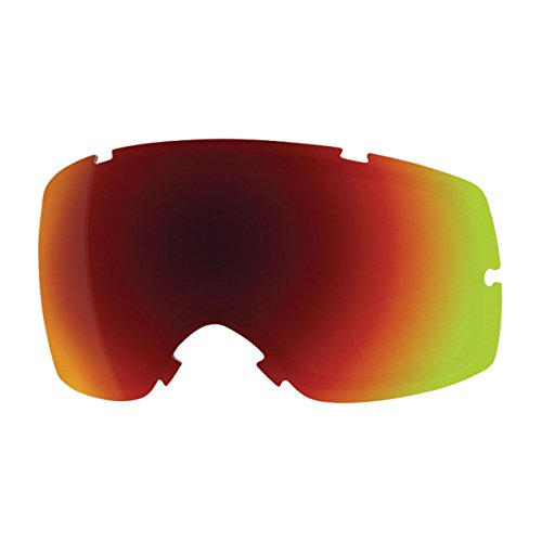 Smith Squad Replacement Goggle Lens Red Sol X Mirror, One Size