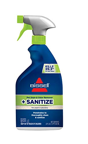 Bissell, 1129 Pet Stain & Odor Remover + Sanitize, 22oz, Pack of 1