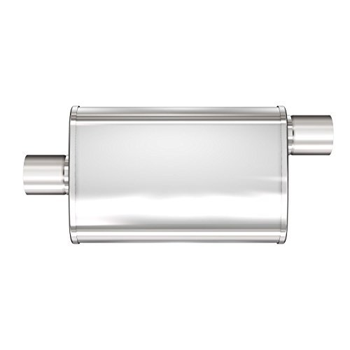 Magnaflow 13256 XL Stainless Steel 2.5 Oval Muffler by Magnaflow