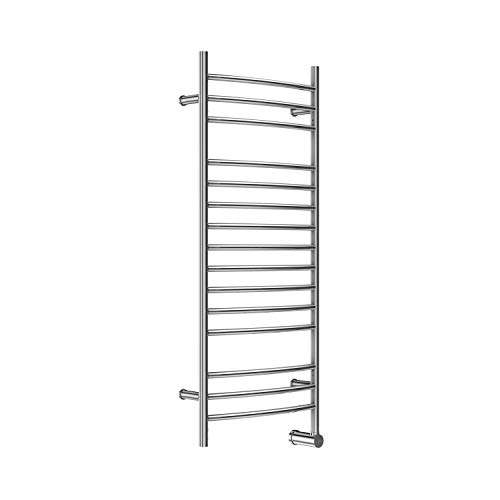 Mr Steam W348TSSB W348 15-Bar Wall Mounted Electric Towel Warmer with Digital Timer in Stainless Steel Brushed