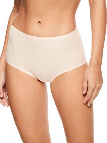 Chantelle Women's Soft Stretch One Size High Rise Brief, Nude Blush, OS (Briefs Underwear Women Chantelle)