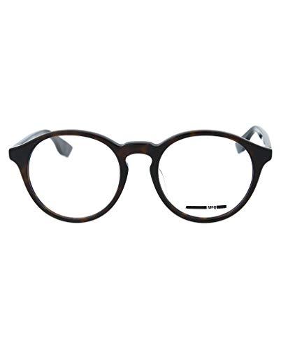 Alexander Mcqueen Mens - McQ Alexander McQueen Unisex Round/Oval Optical Frames MQ0039OA-30000669-001