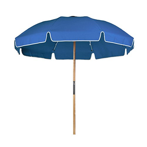 Frankford Umbrella (7.5 ft. Avalon Collection Fiberglass Commercial Grade Beach Umbrella with Ash Wood Pole & Acrylic Fabric)