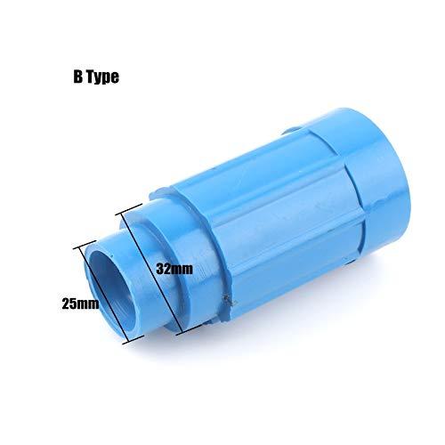 (1pcs 25/32mm Aeration Water Outlet Cannon Joint Aquarium Fish Tank Aquaculture Aeration Savior Jet-Flow PVC Duckbill Connector)