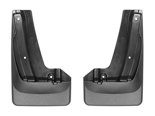 WeatherTech Custom MudFlaps for Subaru Outback - Front Pair Black (110072)