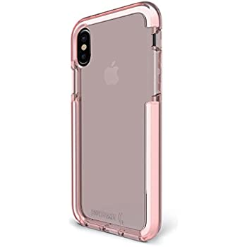 BodyGuardz - Ace Pro Case for iPhone X, Extreme Impact and Scratch Protection for iPhone X (Pink/White)