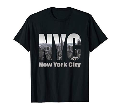 - New York City Skyline TShirt Gift - NYC Lovers Fans
