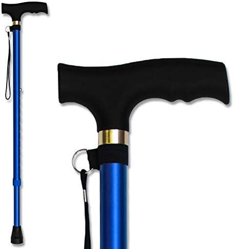 Amazon.com: Bastón para caminar – Bastón de aluminio ligero ...