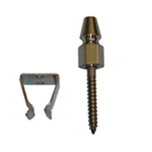 Acorn Bullet Catch Stainless Steel - Clasp Bullet