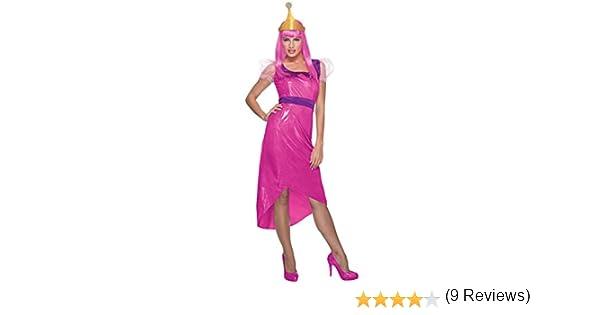 Disfraz de La Princesa Chicle Hora de Aventuras para mujer: Amazon ...