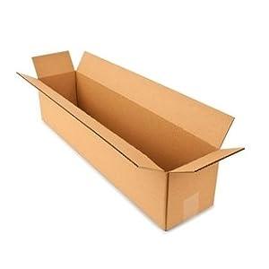 28l x 6w x 6d corrugated cardboard box long box 32 ect. Black Bedroom Furniture Sets. Home Design Ideas