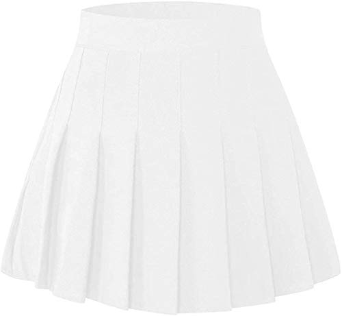 SANGTREE Girls Women's Pleated Skirt with Comfy Stretchy Band, 2 Years – US 2XL