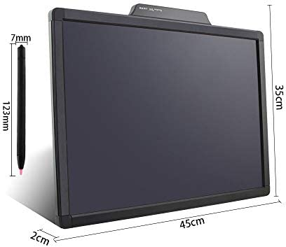 LKJASDHL 20インチ子供用LCD手書きパズル早期教育落書き小さな黒板ライティングドローイングボードメッセージボードホワイトボードペンライティングタブレット