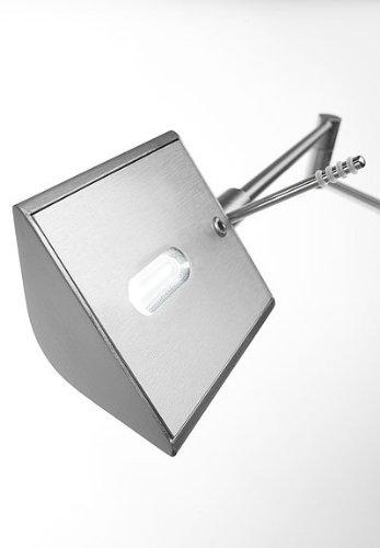 Single Swing Arm Floor Lamp (Holtkoetter 9680LEDP1 SN LED Low-Voltage Swing-Arm Floor Lamp with Dimm-System P1, Satin Nickel)