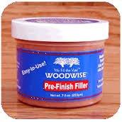 Woodwise 7.5 Oz Pre Finished Wood Filler - Ebony Tone -