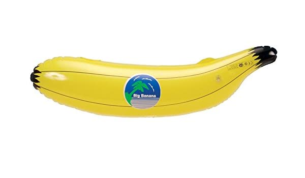 24 Inflable Banana - Inflatable Bananas 75cm - 51522: Amazon.es ...
