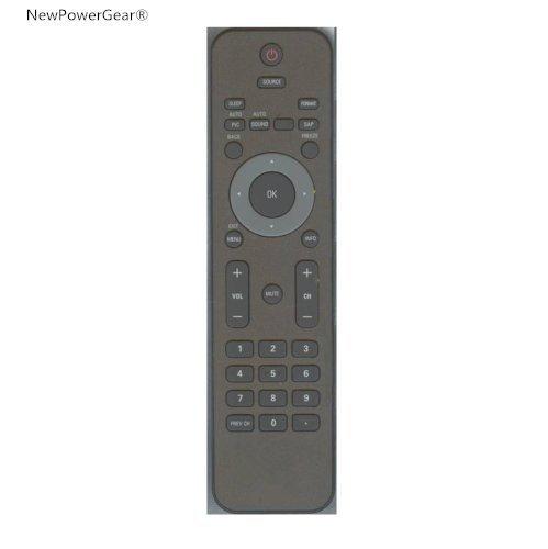 """NewPowerGear TV Remote Control Replacement For (19"""") - 19PFL4505D, 19PFL4505D/F7 19PFL3505D/F7 -  JCEC201710180200002"""
