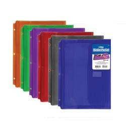Bazic 3 Ring Binder Pocket by Bazic