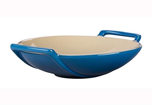Le Creuset Stoneware Wok Dish, 28-Ounce, Marseille