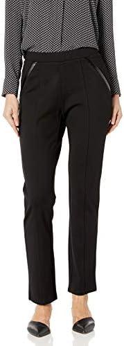 Rafaella Women S Ponte Comfort Fit Slim Leg Pants At Amazon Women S Clothing Store