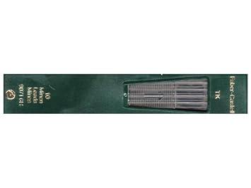Faber-Castell TK 9400 embrague dibujo lápiz Leads 6H Pack de 10 by Faber-Castell: Amazon.es: Oficina y papelería