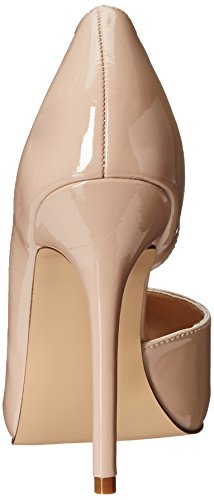 Pleaser Amuse 22 - Tacones Mujer Beige (Nude Pat)