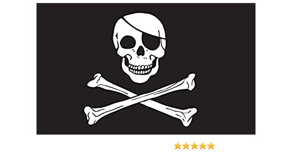 "NEW 6 ft It/'s Surrender the Booty Flag 1//4/"" Whip flag Pole /& Mounting Bolt ATV"
