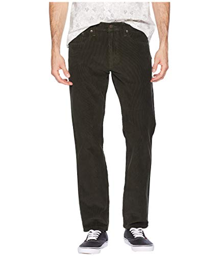 Green Corduroy Pants - Levi's Men's 502 Regular Taper Fit Pant, Rosin warp Corduroy/Stretch, 40W x 30L