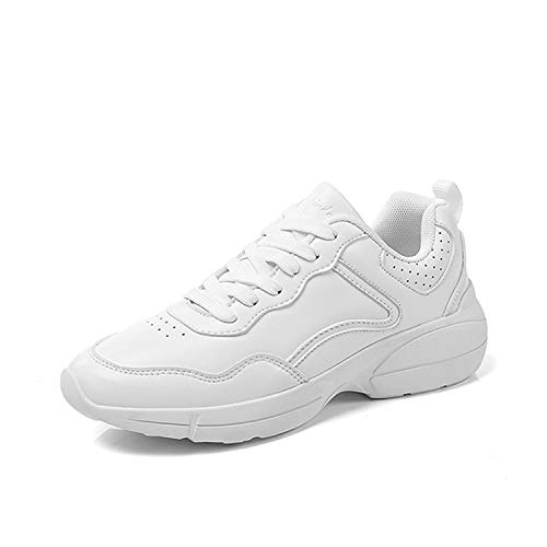 Sanguine レディース スニーカー 厚底靴 厚底スニーカー 身長アップ 美脚  ウォーキングシューズ レースアップ ローカット 通勤 通学 合皮靴 履きやすい 歩きやすい 疲れにくい 看護師 婦人靴