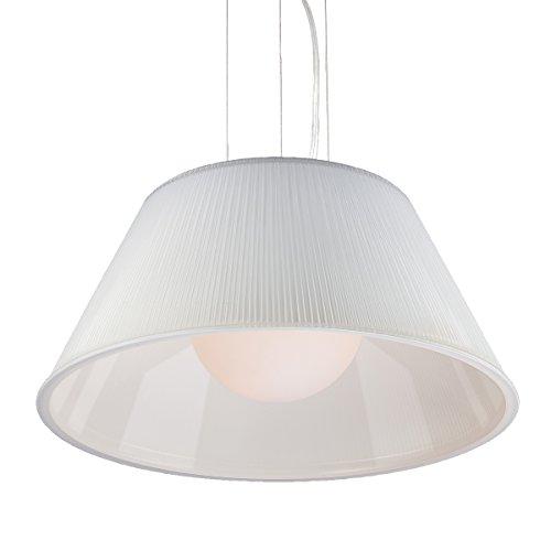 (Eurofase 23068-049 Ribo 1-Light Large Pendant, Chrome)