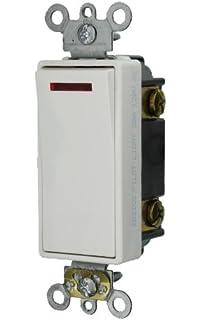 Leviton 107-5603-2WS 3-WAY Switch White - Wall Light Switches ... on