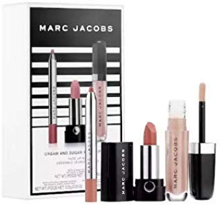MARC JACOBS BEAUTY Cream and Sugar Nude Lip Trio Set: Lipstick, Lip Liner and Lip Gloss by Marc Jacobs Beauty