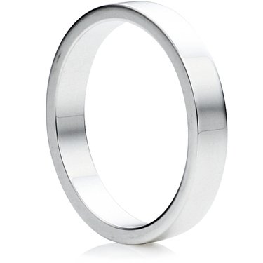 Wedding Rings Direct 3mm Platinum Flat Wedding Ring 58g K 12