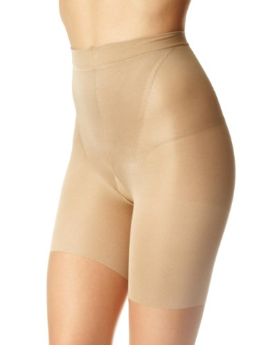 SPANX In-Power Line Body-Shaping Sheer Pantyhose Hosiery (B Nude)