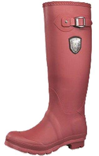 Kamik Botas de Jennifer lluvia para las mujeres Burgundy